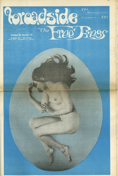 The  Broadside & The Free Press, August 12, 1970–August 25, 1970