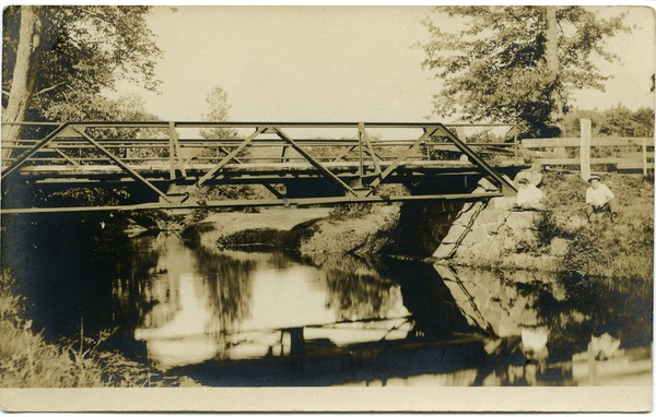 Bridge over the Swift River, ca. 1910