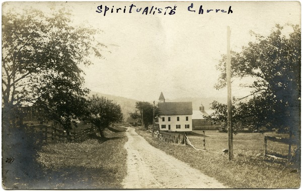 Lucy Parker's house, Spiritualist Church, ca. 1908