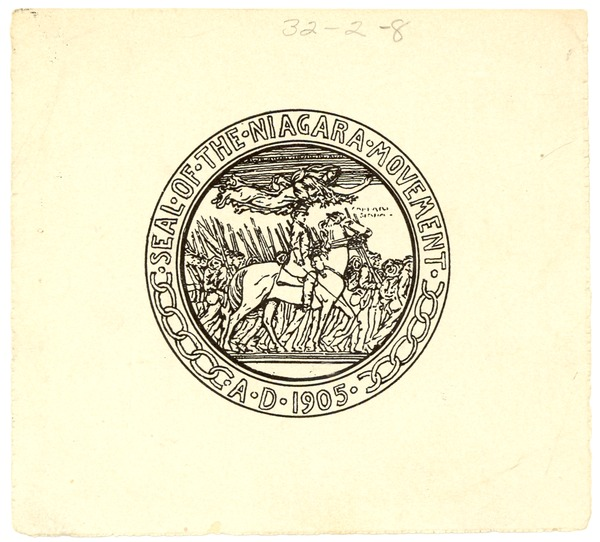 Niagara Movement logo, ca. 1905
