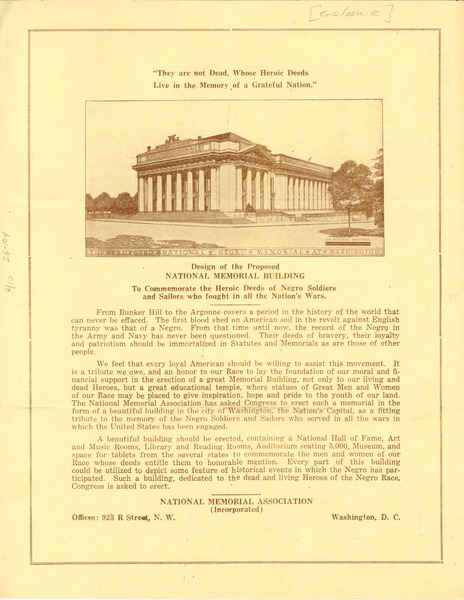 Design of the proposed national memorial building to commemorate the heroic
