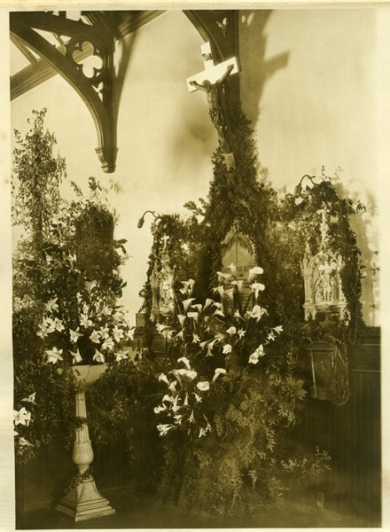 Chapel of the Comforter, Greenwich Village: View of a side chapel?: , ca. 1926
