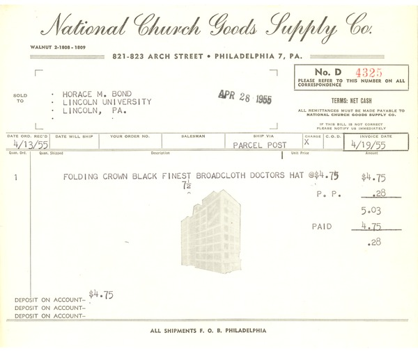 National Church Goods Supply Co., 1955