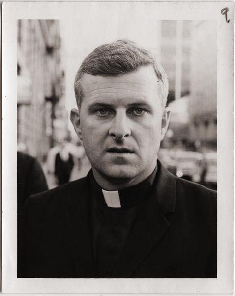 Another arrested priest: Close up portrait of Father Robert Cunnane, a Catholic priest from Boston and             member of the Milwaukee 14: , ca. September 24, 1968