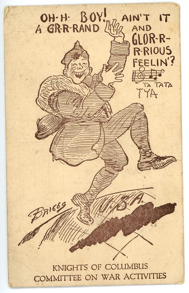 Postcard from Clinton T. Brann to Rhea Oppenheimer, May 19, 1919