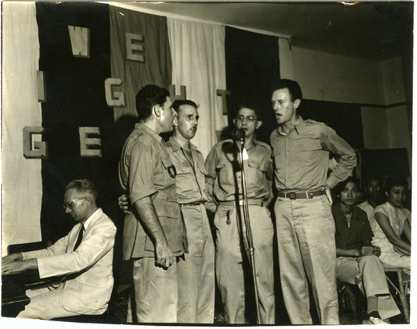 OWI party, July 3, 1945