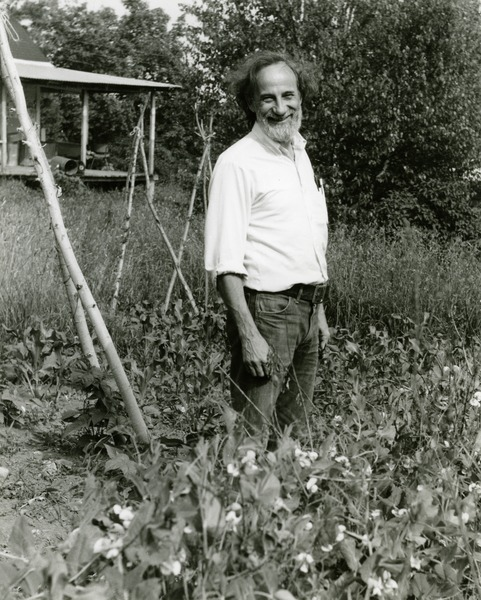 Jack Cook in field, ca. 1980