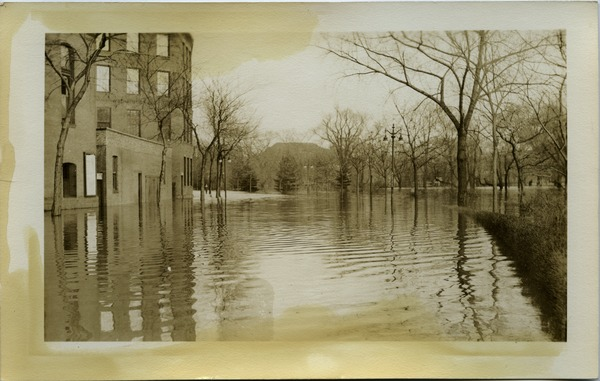 Aftermath of the great Hartford Flood: Flooded streets: , ca. March 1936