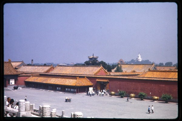Forbidden City: Gate of Heavenly Purity, June 1978