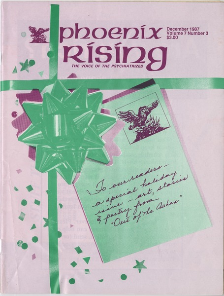 Phoenix rising: The voice of the psychiatrized: , December 1987