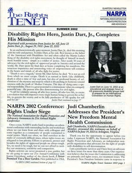 The  Rights Tenet, June 2002–August 2002