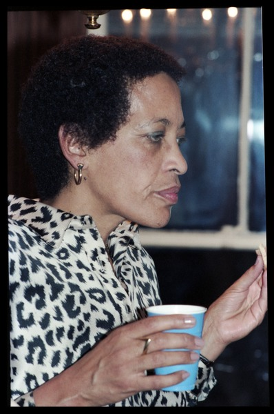 Johnnetta Cole at the book party for Robert H. Abel, November 1985