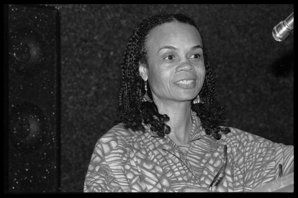 Sonia Sanchez: reading her poetry, August 1985