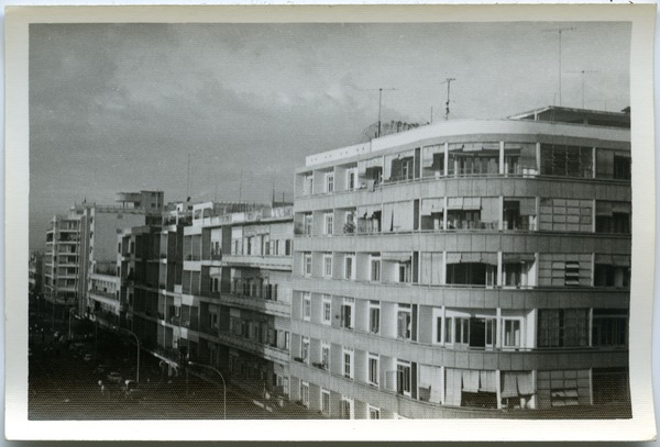 Buildings in central Phnom Penh, May 7, 1968
