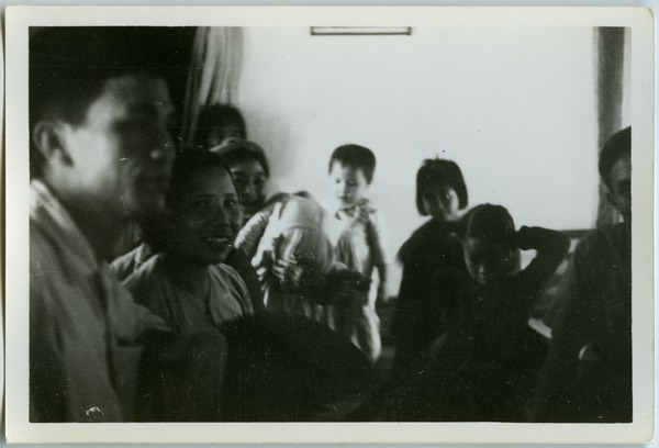 Family in agricultural commune, Thái Bình province, May 1968