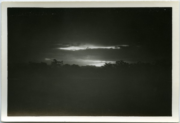 Sunset, Thái Bình countryside, May 1968