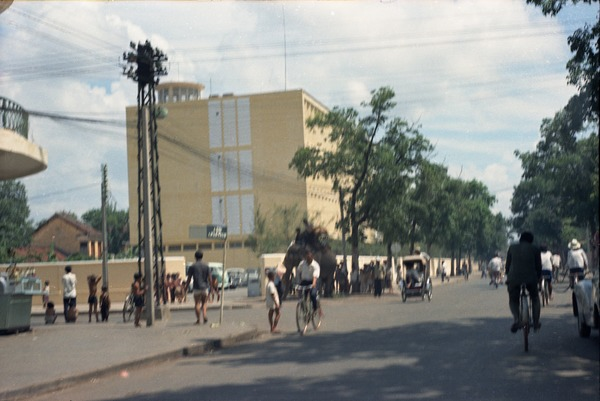 Street intersection, with local traffic, May 1968