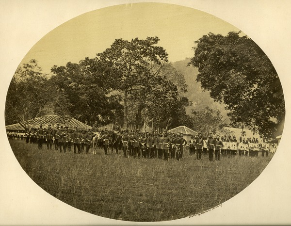 22nd Bengal Native Infantry, Penang, ca. 1863