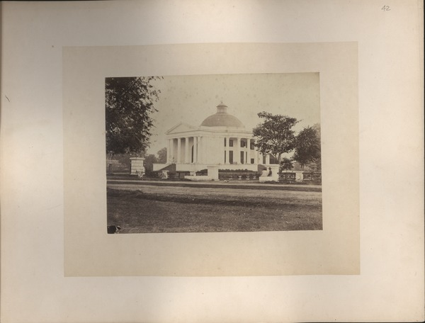 Willems Church (Dutch Reformed), Batavia, Java, ca. 1865