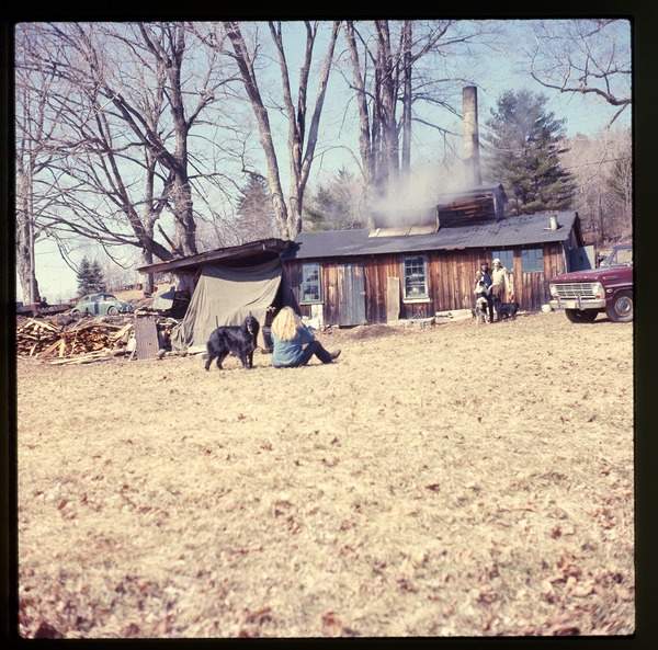 Sugar house, Montague Farm Commune, March 1975