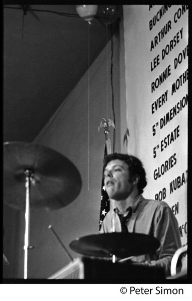 Every Mothers Son on tour: Christopher Augustine (drums) in performance: , 1967