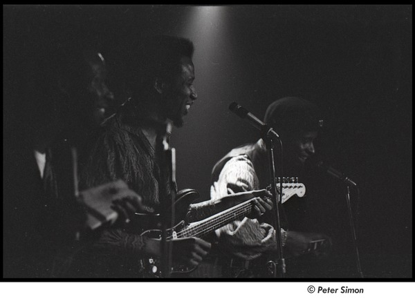 Chambers Brothers: (l-r) Joe Chambers, Lester Chambers, and Willie Chambers, 1966