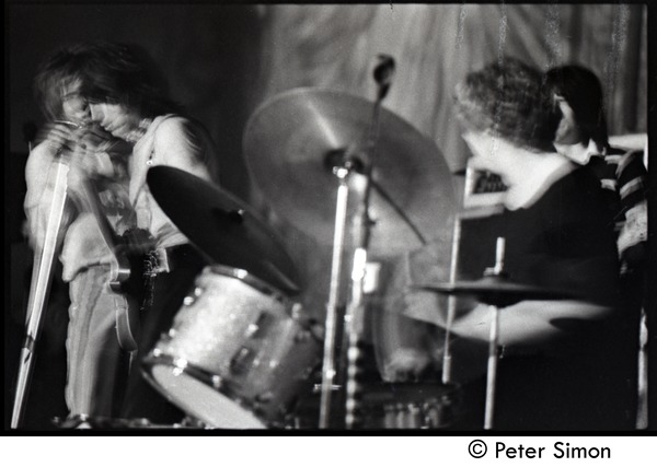 Jeff Beck Group performing at the Boston Tea Party: Rod Stewart (vocals), Jeff             Beck (guitar) and Tony Newman (drums), May 7, 1969