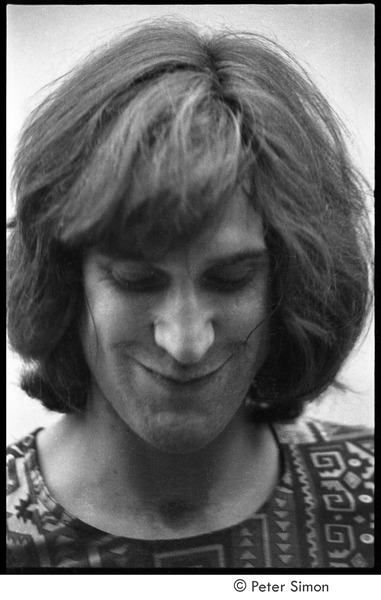 Kinks at the Boston Tea Party: Ray Davies backstage, October 23, 1969