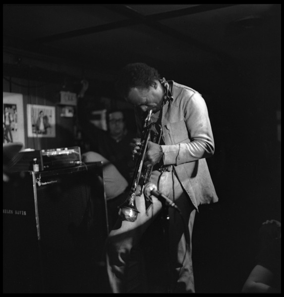 Miles Davis performing at Lennie's On the Turnpike, January 14, 1971