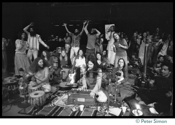 Amazing Grace performing at the Winterland Ballroom during the Ram Dass       'marathon', ca. March 23, 1974