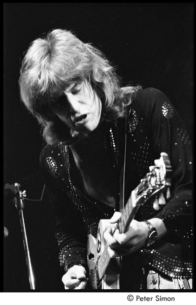 Alvin Lee performing with Ten Years After, ca. 1970