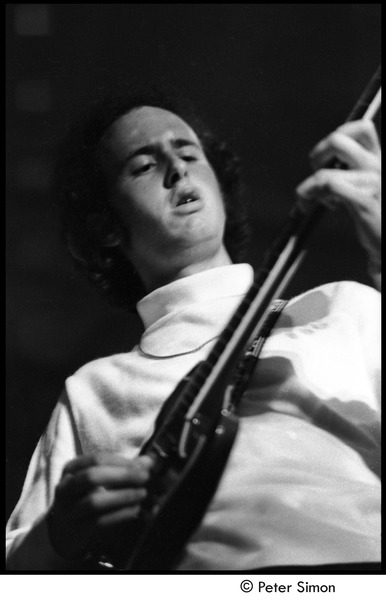 The Doors at the Crosstown Bus: Robby Krieger playing guitar, August 10, 1967