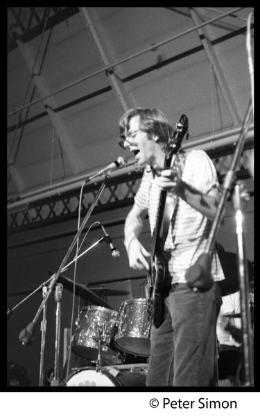 Phil Lesh on bass guitar, Grateful Dead concert, MIT, ca. May 7, 1970