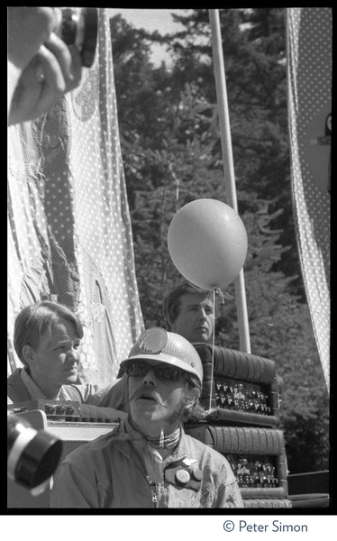 Jefferson Airplane performing at the Fantasy Fair and Magic Mountain Music             Festival, Mount Tamalpais: Spencer Dryden (drums): , June 11, 1967