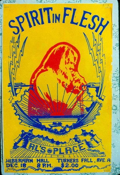 Spirit in Flesh mini-poster, 1972