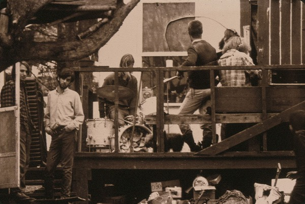 Far left, Nate Tilton and Steve Wolfson: Band is early forerunner to in Flesh, 1969