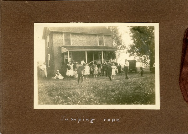 Jumping rope, ca. September 2, 1922
