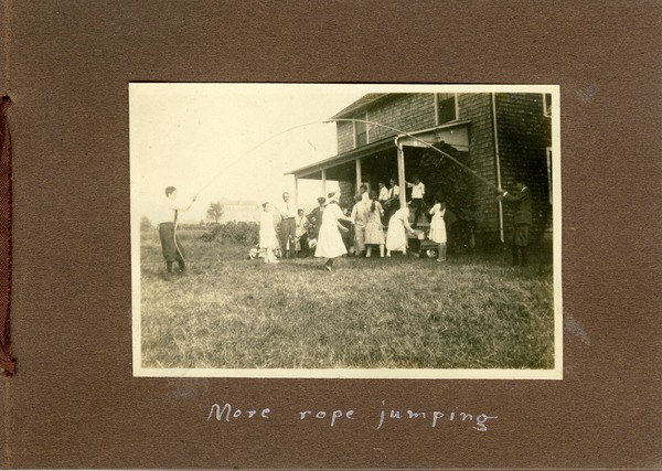 More rope jumping, ca. September 2, 1922