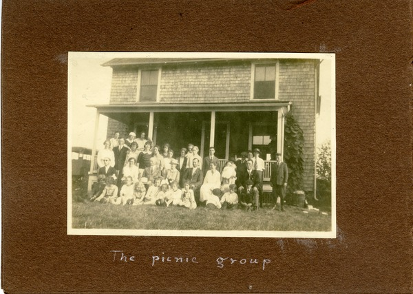 The  picnic group, ca. September 2, 1922