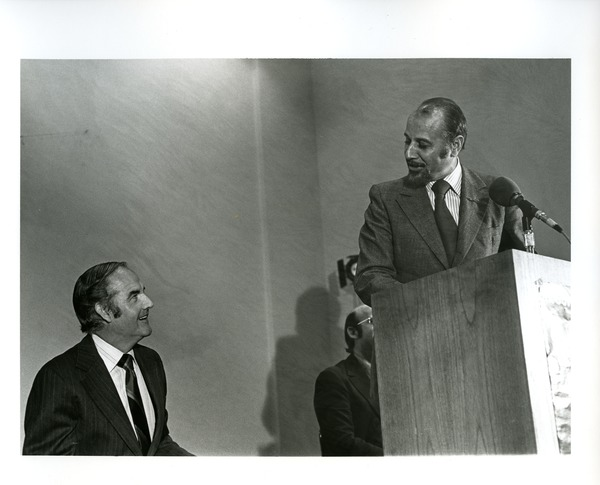 Basil Paterson and George McGovern, 1972