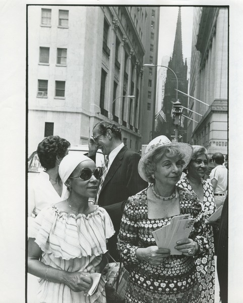 Promoting New York State Women's Meeting, 1977