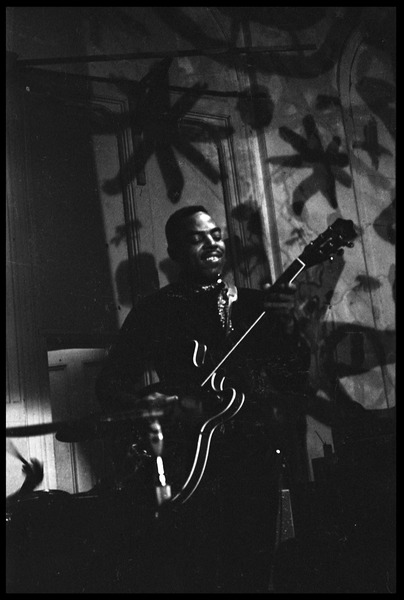 Muddy Waters Blues Band at the Boston Tea Party: Sammy Lawhorn, April 4, 1968