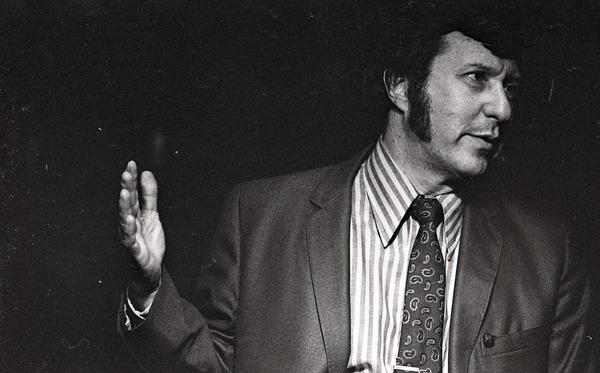 Fred Taylor, manager of the Jazz Workshop, September 1970