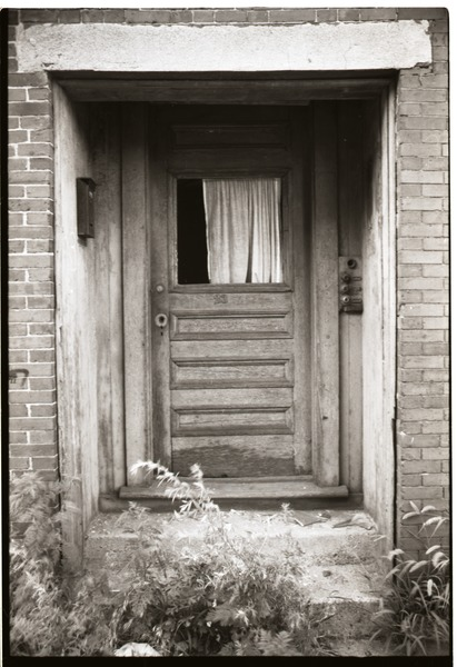 Roxbury rambling: doorway, August 1970