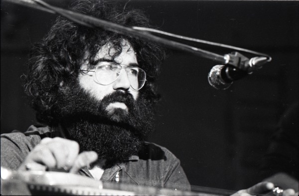 New Riders of the Purple Sage opening for the Grateful Dead at Sargent Gym, Boston University: Jerry Garcia on pedal steel guitar, November 21, 1970