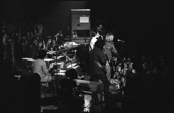 Grateful Dead at Sargent Gym, Boston University: The Grateful Dead onstage, November 21, 1970