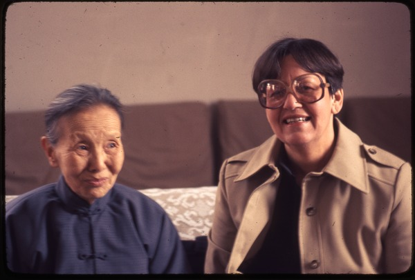 National Institute -- Shih Ping-Shin and Ruth Sidel, March 20, 1977