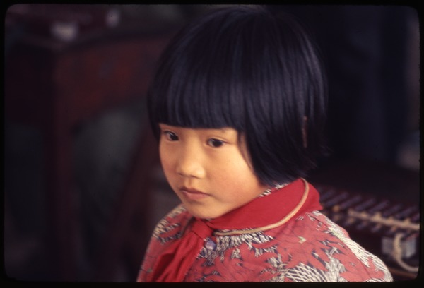 Hsiao Ying Primary School -- child, face, March 24, 1977