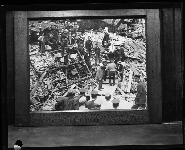 Pickwick Club disaster, ca. July 4, 1925