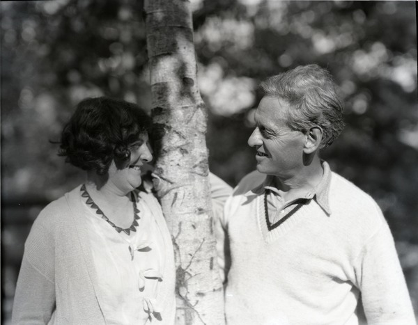 George Allan England and wife Blanche, September 14, 1929